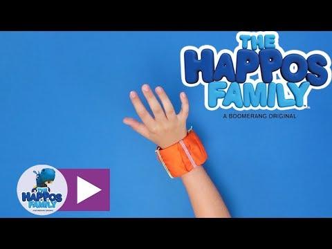 How to make a fabric bracelet I Create & Play for kids I The Happos Family