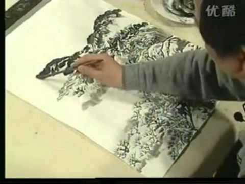 徐建明   Landscape Chinese Painting with Composition Study for Beginners Part 8