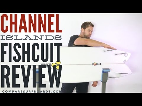 Channel Islands Surfboards Fishcuit Review + Futures Rasta Quad Fins No.129 | Compare Surfboards