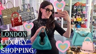 LONDON LUXURY SHOPPING VLOG 2021 Come Shopping With Me at Harrods Dior Chanel Louis Vuitton
