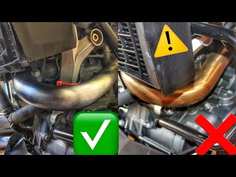 How To Clean Exhaust Pipe with Scotch Brite