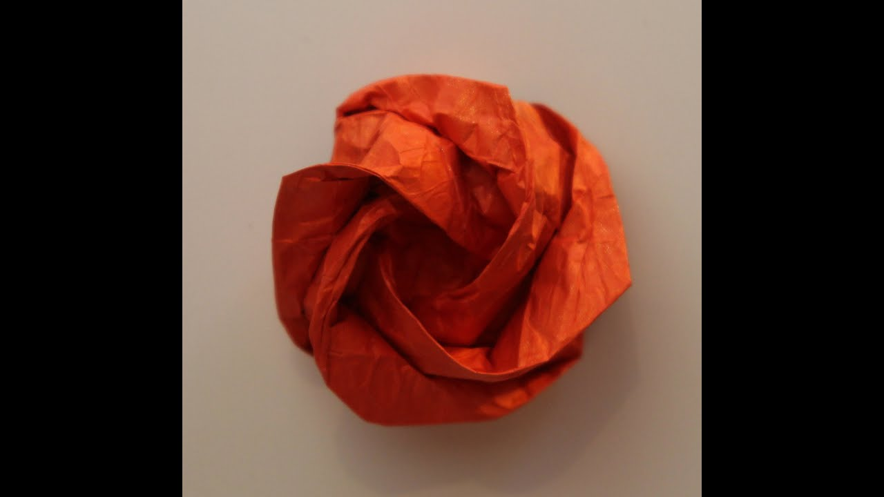 Origami rose of roses by Jordi Adell - YouTube - photo#43