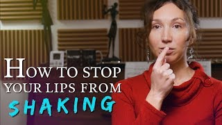 How to stop your lips from shaking on the Flute