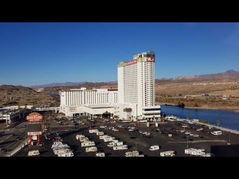 Aquarius Casino Resort Laughlin (Arizona Tower Sunset Suite 16003) Room Tour 9th January 2019