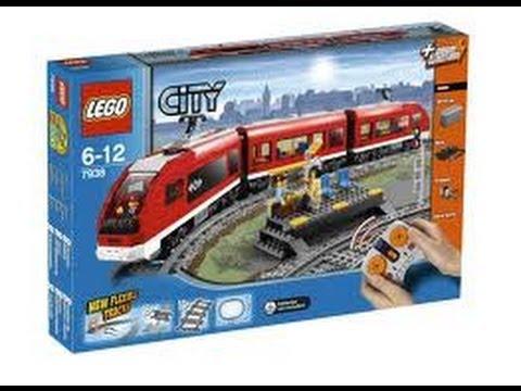 Review Lego 7938 Tren de pasajeros