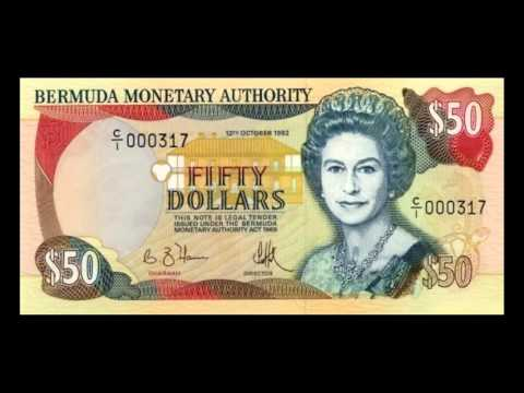 All Bermudian Dollar Banknotes - 1992 to 1999 Issues