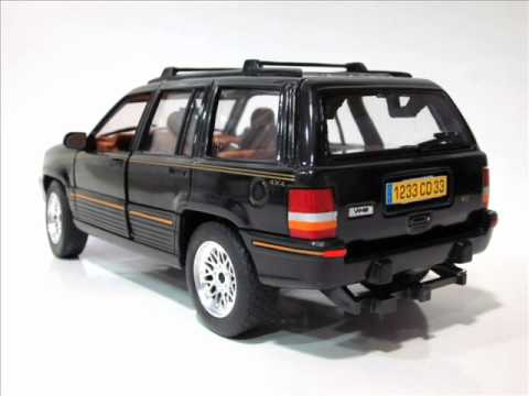 Jeep Grand Cherokee 5 2 Limited 95 Solido Scale 1 18