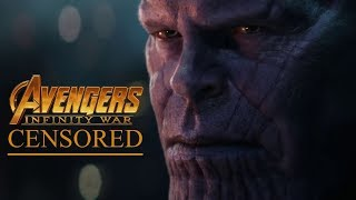 AVENGERS: INFINITY WAR | Unnecessary Censorship | Try Not To Laugh thumbnail