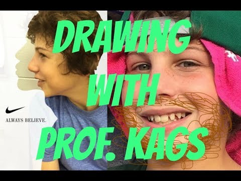 Drawing with Prof. Kags