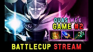 Quas Wex Invoker vs 8k MMR Ember Spirit Mid - Tier 8 Battlecup Game #2