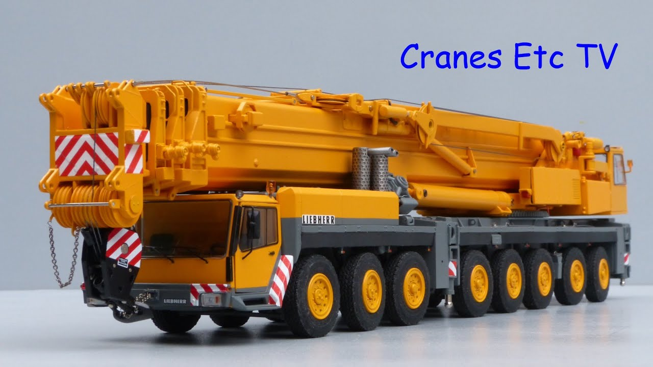 Tower Crane Vs Mobile Crane : Ycc liebherr ltm mobile crane by cranes etc tv