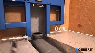 Подвесной унитаз Geberit Duofix Sigma Cistern 8cm установка - сантехника ViP(, 2014-05-14T12:48:48.000Z)