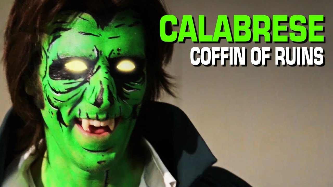 calabrese coffin of ruins official video - Calabrese 13 Halloweens