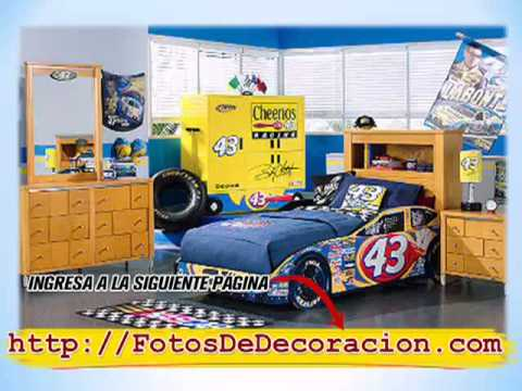 Habitaciones infantiles decoraci n de dormitorios para - Dormitorios de cars ...