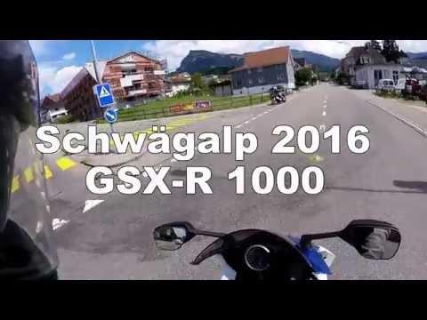 Schwägalp 2016 - Suzuki GSX-R 1000