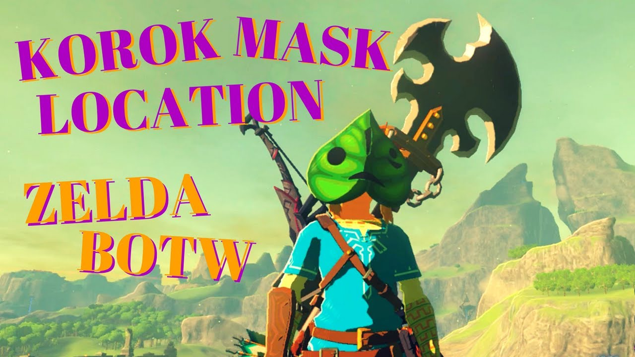 Zelda Botw Korok Mask Ex Chest Location Youtube It's not just for show, though. zelda botw korok mask ex chest location