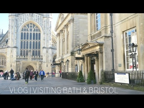 VLOG | DAY OUT IN BATH & BRISTOL | EMILY ROSE