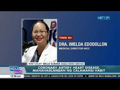 Coronary artery heart disease, mahahadlangan ng calamansi habit