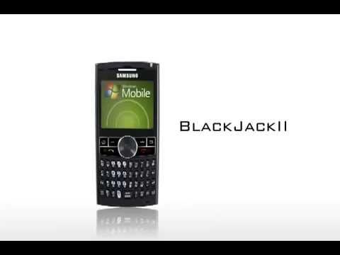 Samsung i617 Blackjack II Commercial