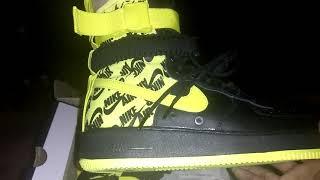 Nike SF Air Force 1 High 17 (black and