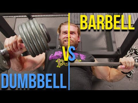 Dumbbell vs Barbell Workout | Which Builds More Muscle?