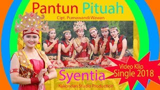 Lagu Dayak terbaru 2018  Syentia  Pantun Pituah Cipt. Purnawandi wawan (Official Video Klip)