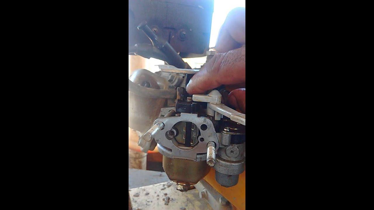 limpeza de carburador estacionário 5.5 2