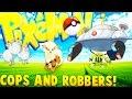 POKEMON COPS AND ROBBERS! - Minecraft Pixelmon Mod