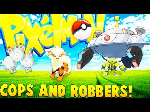Pokemon Cops And Robbers