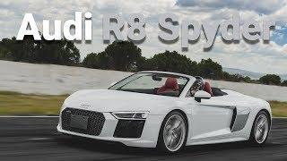 Audi R8 Spyder - Auto de superhéroe pero a cielo abierto   Autocosmos