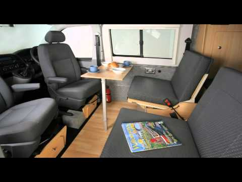 VW T5 Danbury ACTIVE model campervan from Danbury Motorcaravans