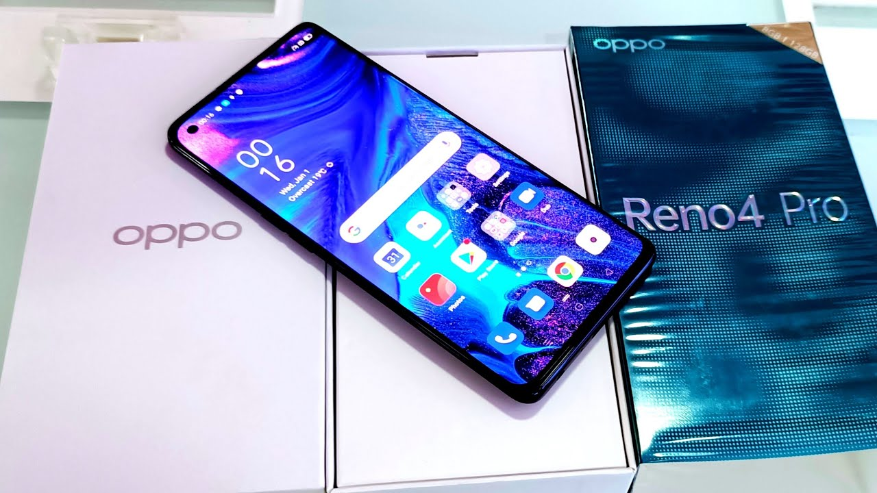 Reno 4 Pro Silky White Unboxing, First Look & Review !! Reno 4 Pro Price ,Specifications & many More