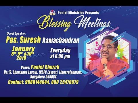 Resumed Day 1-Blessing Meetings : Suresh Ramachandran #penielindia