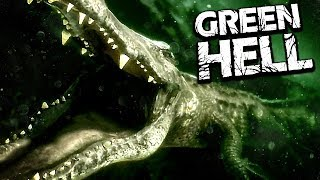 IT'S HERE.. DO NOT GO IN THE WATER!! - Massive Update: Black Caiman & New Map - Green Hell Gameplay