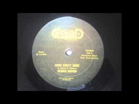 Dennis Brown 'Home Sweet Home' 12 inch