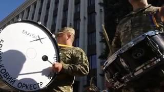 Парад ко Дню защитника Украины в Днепре 14.10.2018