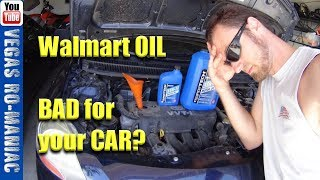👀 What Cheap Walmart Supertec oil does to your CAR after 150000 miles - Toyota