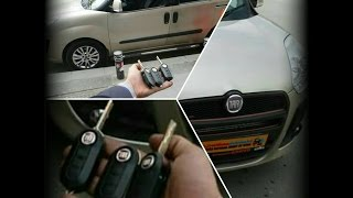 2011 Fiat Doblo 3 Adet Kumandalı Yedek Anahtar Yapımı 0212 548 48 00 istanbulotoanahtarci.com