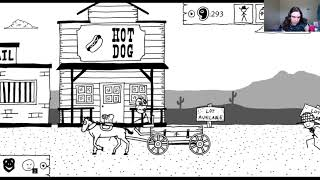 Let's Stream West of Loathing - Episode 8 - Troll Ghosts