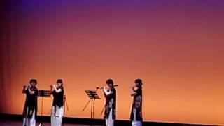 太鼓祭り 篠笛.