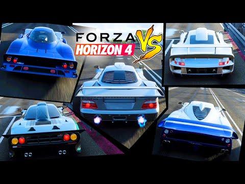 GT LEGGENDARIE: SFIDA 5 AUTO - Forza Horizon 4 - NU89
