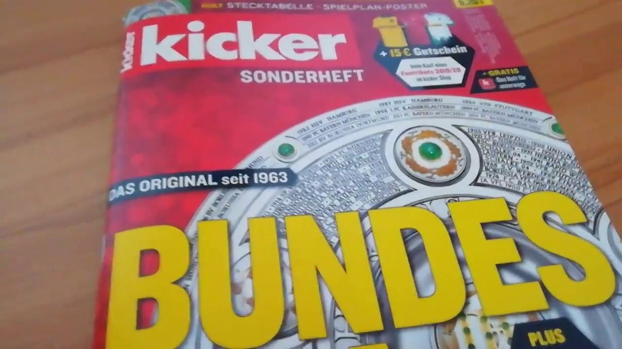 Kicker sonderheft 2019/20