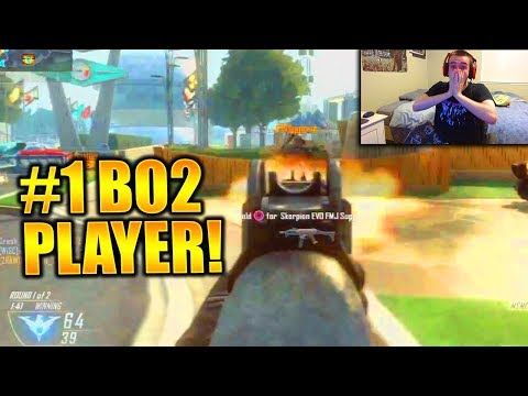 my reaction to the #1 BO2 PLAYER!