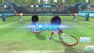 Wii Sports Club - Online Tennis