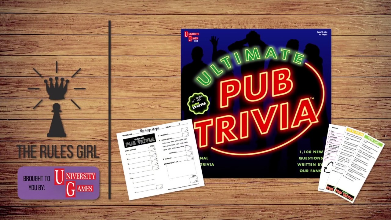 How to Play Ultimate Pub Trivia in 2 Minutes - The Rules Girl