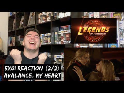 LEGENDS OF TOMORROW - 5x01 'MEET THE LEGENDS' REACTION (2/2)