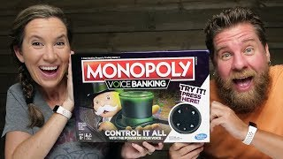 NEW Monopoly Voice Banking Game