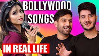 BOLLYWOOD SONGS IN REAL LIFE! | ZAIDALIT | SHAHVEER JAFRY |