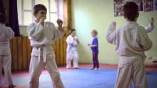 Джиу-Джитсу детская тренировка. Зал единоборств