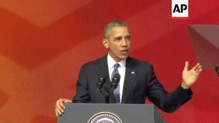 Obama on benefits of TPP trade agreement